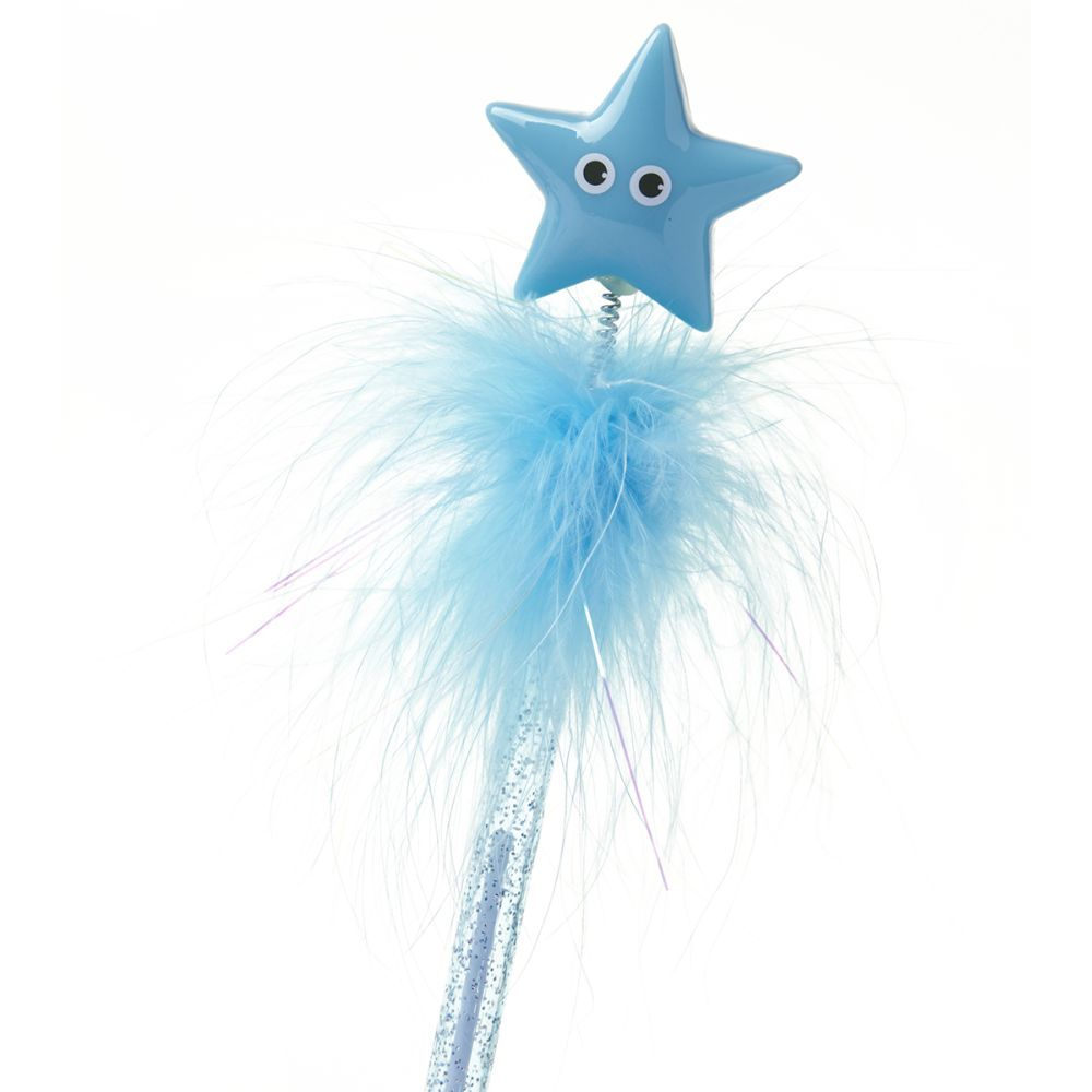 Tonkin Blue Feather Pen Star
