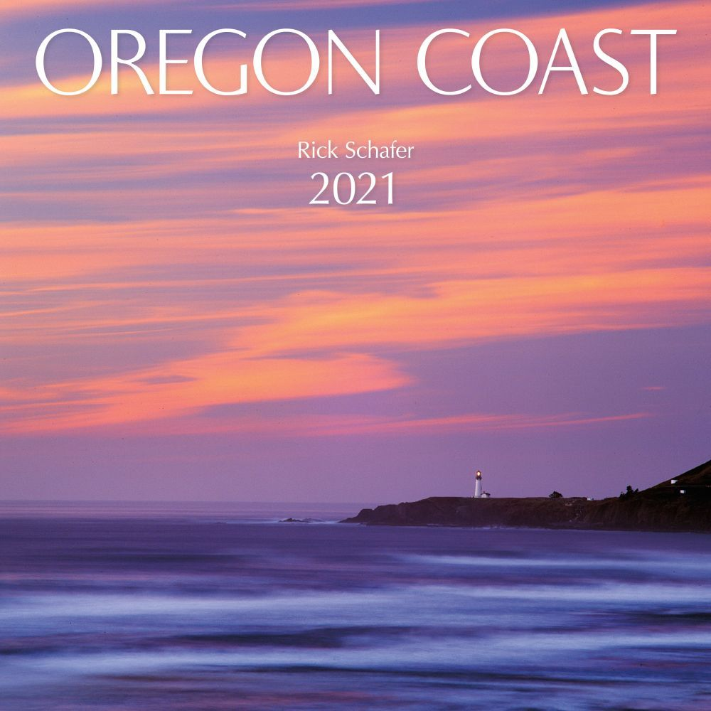Oregon Coast Protege 2021 Wall Calendar