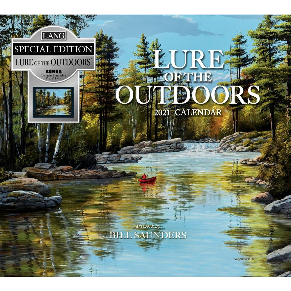 2021 Lure of the Outdoors Special Edition Wall Calendar