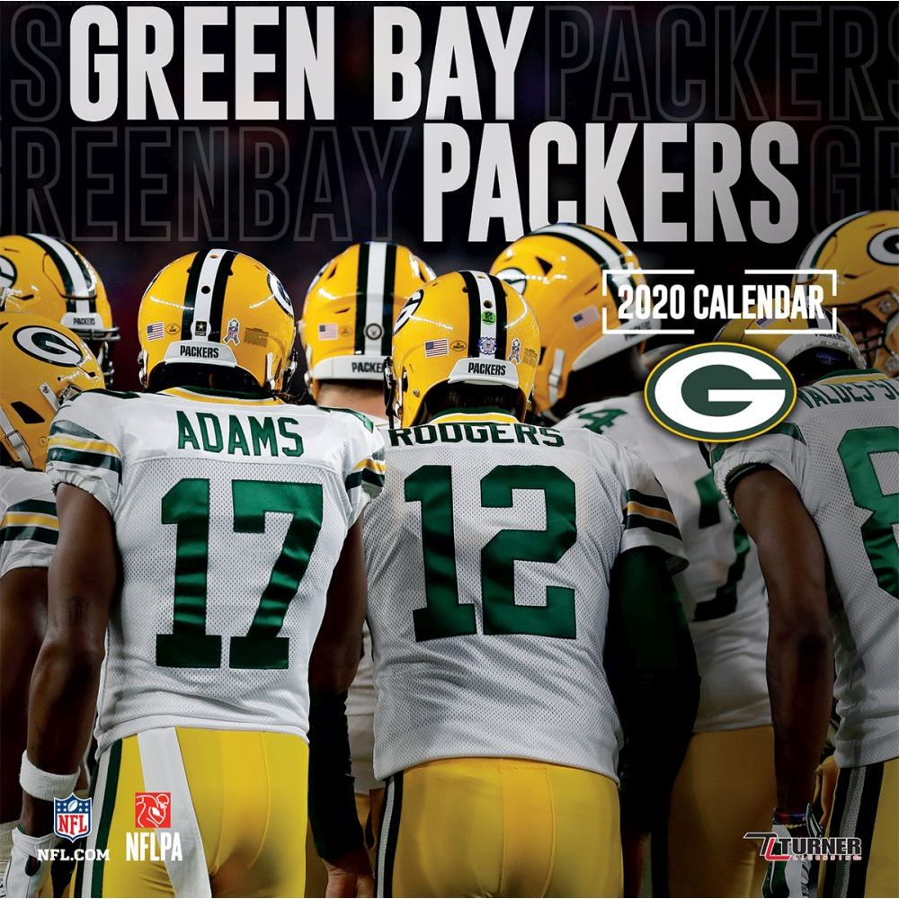 Green Bay Packers 2021 Wall Calendar