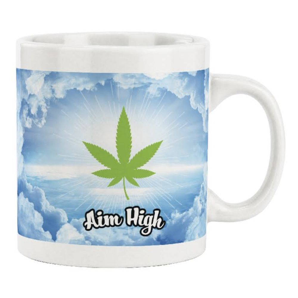 Aim High Leaf Color Changing Mug