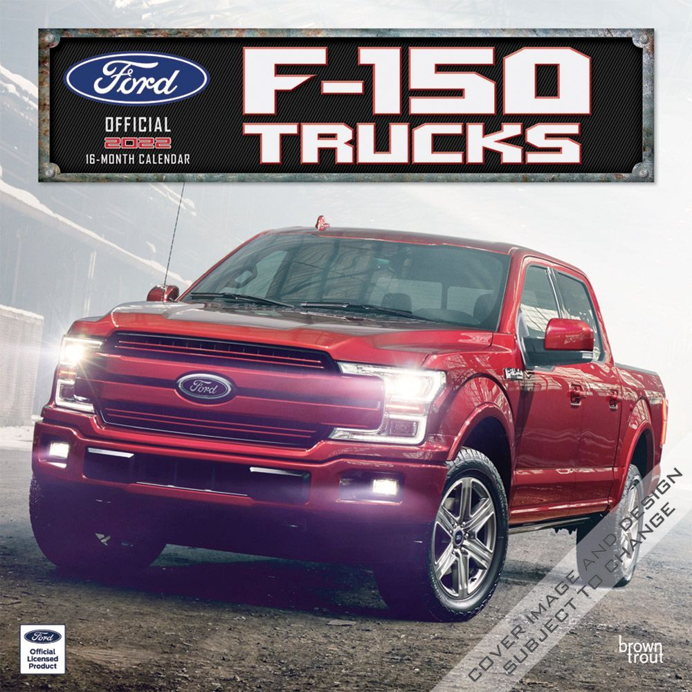 Ford F150 Trucks 2022 Wall Calendar