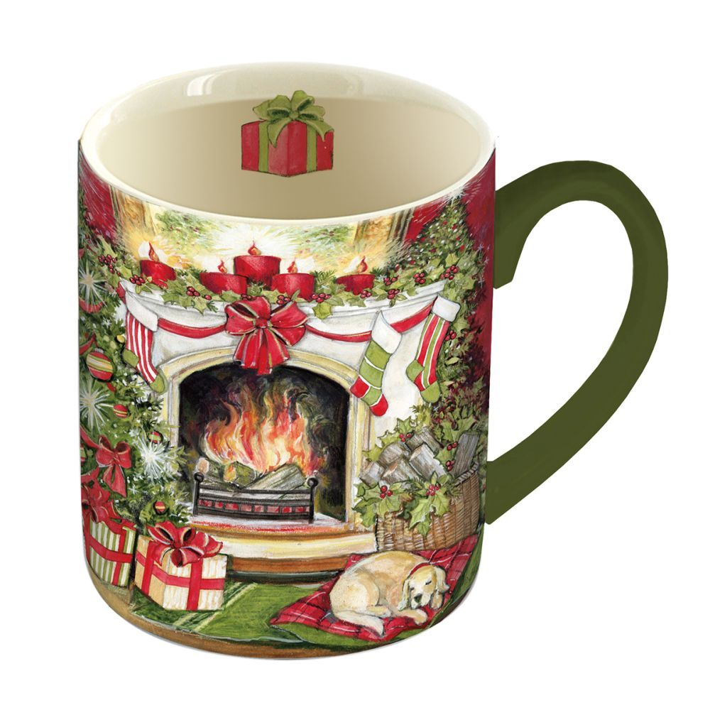 Christmas Warmth 14-oz. Mug w/ Decorative Box by Susan Winget-1