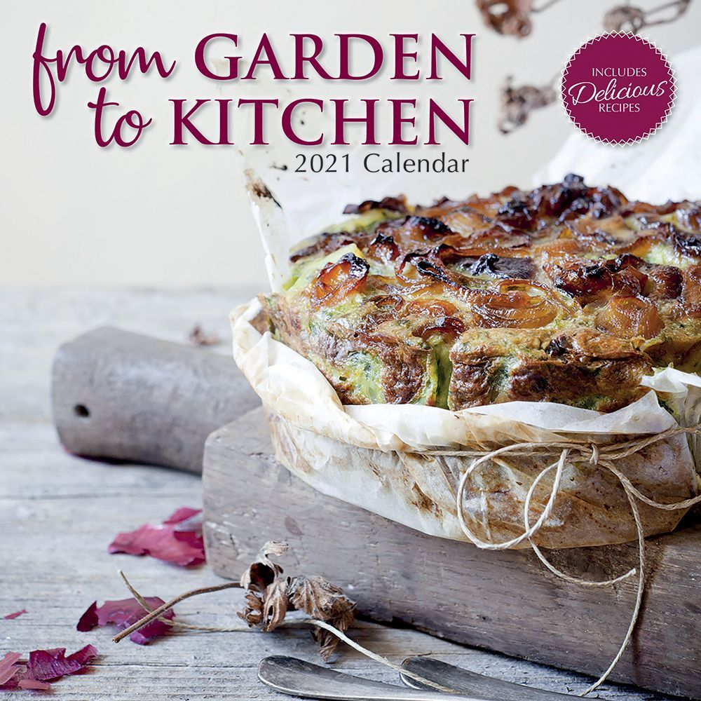2021 Garden to Kitchen Wall Calendar