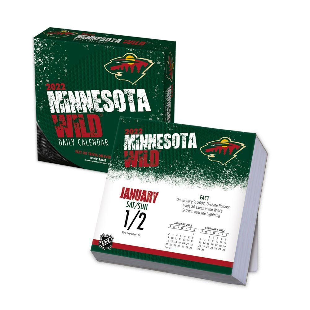 Minnesota Wild 2022 Desk Calendar