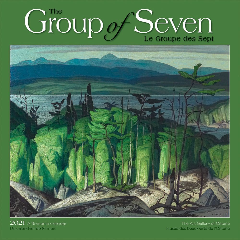 2021 Group of Seven AGO Wall Calendar