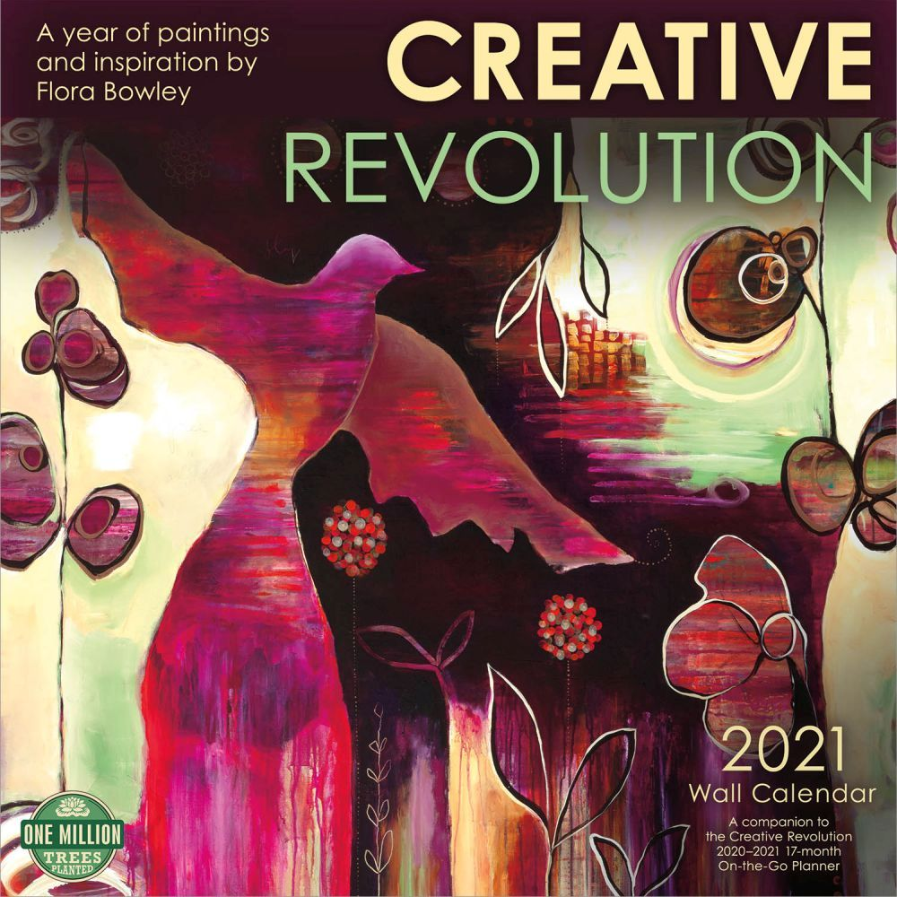 2021 Creative Revolution Wall Calendar