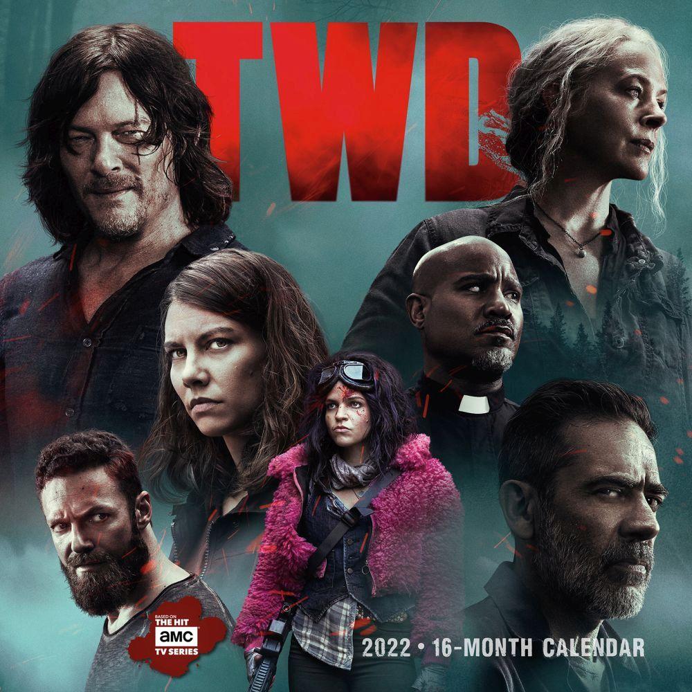 Walking Dead 2022 Wall Calendar