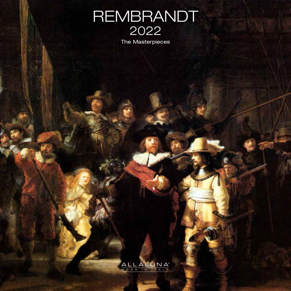 Rembrandt 2022 Wall Calendar