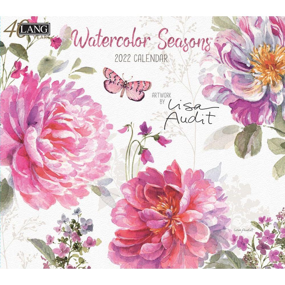 Watercolor Seasons 2022 Wall Calendar