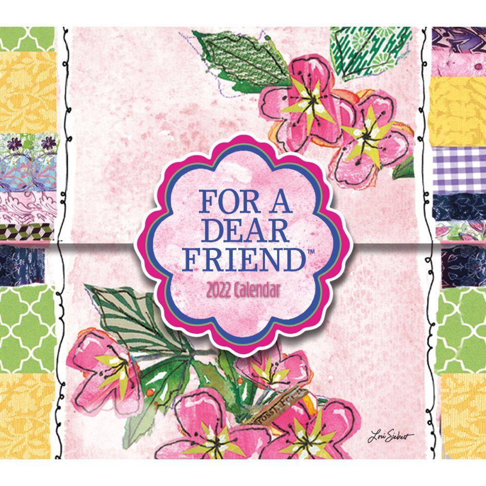 For A Dear Friend 365 Daily Thoughts 2022 Desk Calendar
