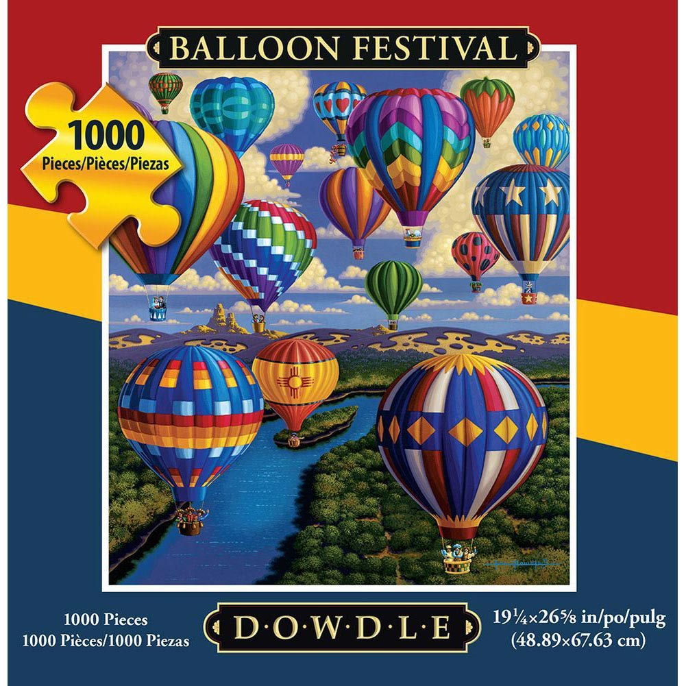Best Balloon Festival 1000 Piece Puzzle You Can Buy