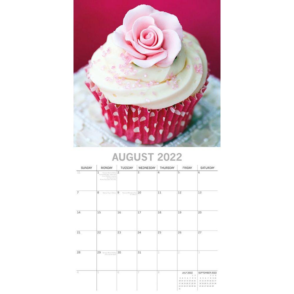 Cupcakes 2022 Wall Calendar