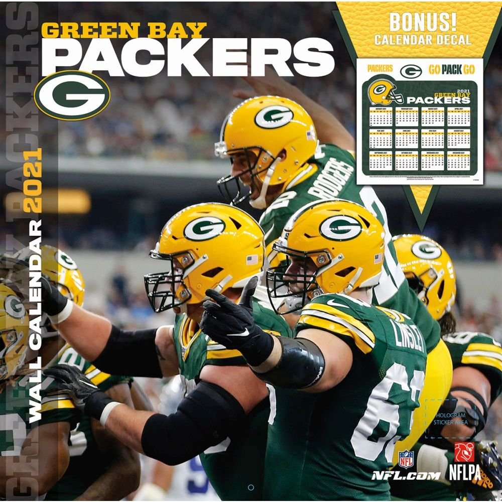 Green Bay Packers 2021 Wall Calendar
