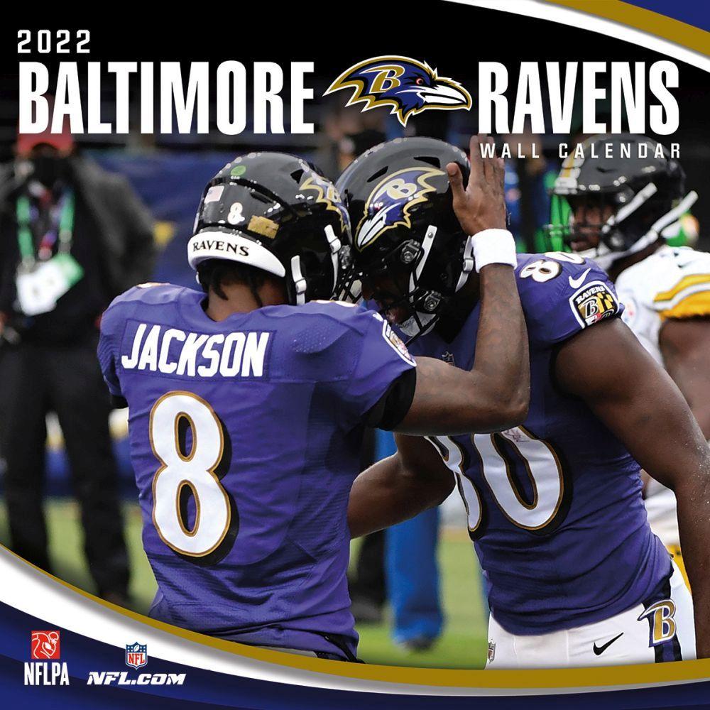 Baltimore Ravens 2022 Wall Calendar
