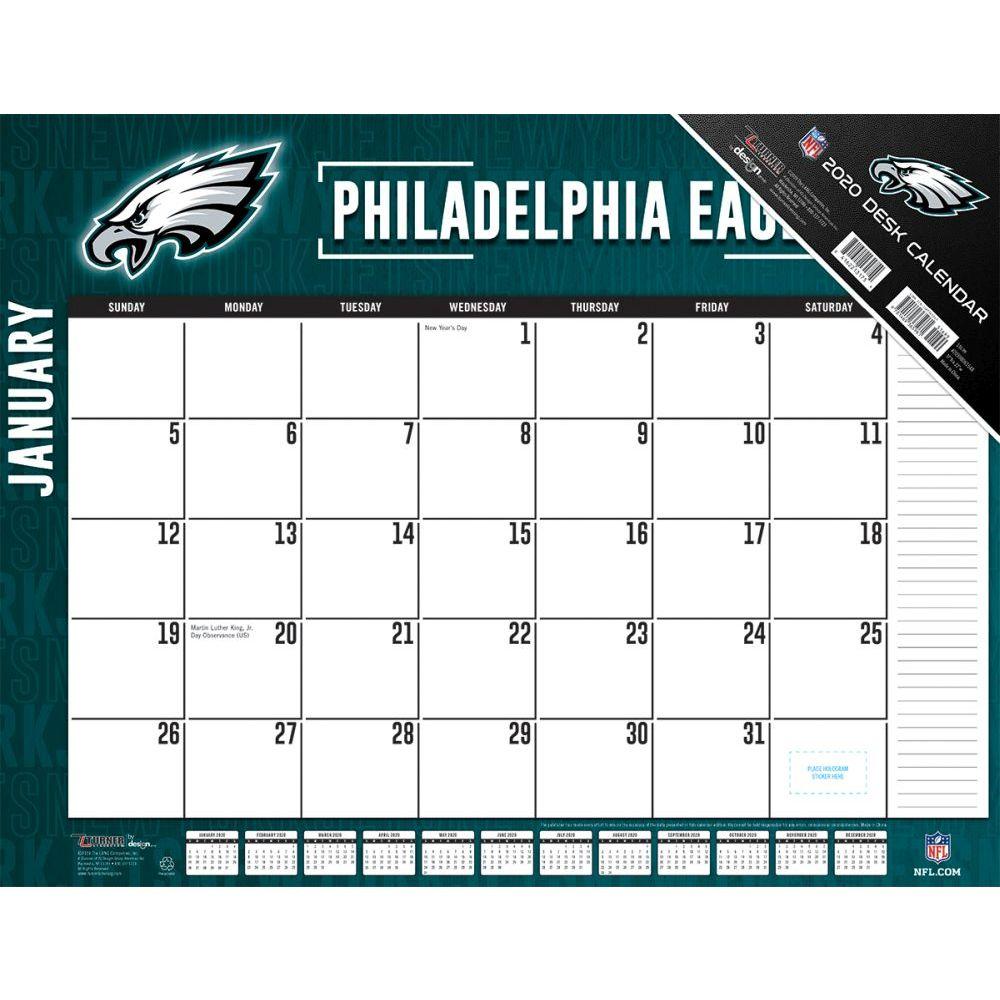 Philadelphia Eagles 2021 Desk Pad
