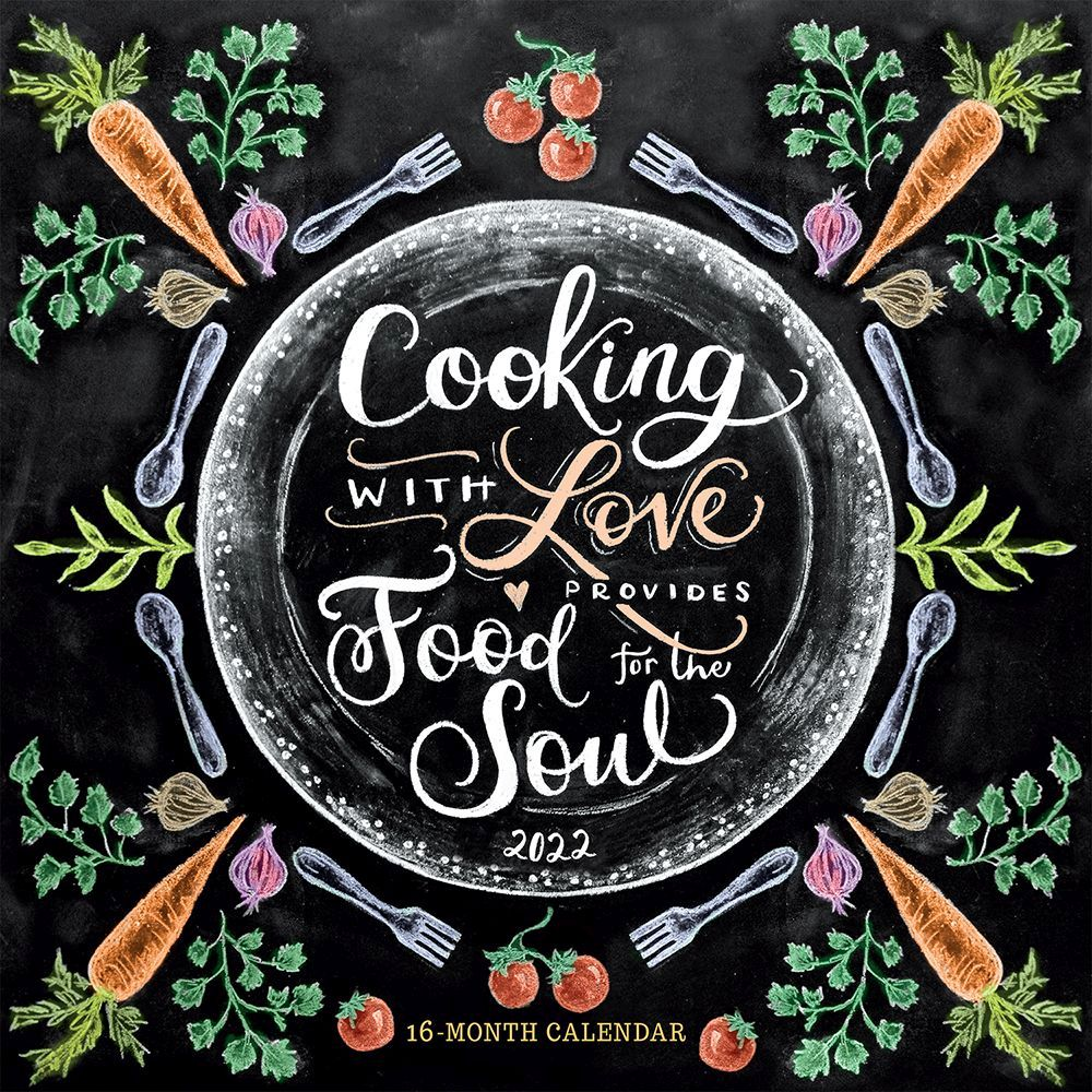 Cooking with Love 2022 Desk Calendar