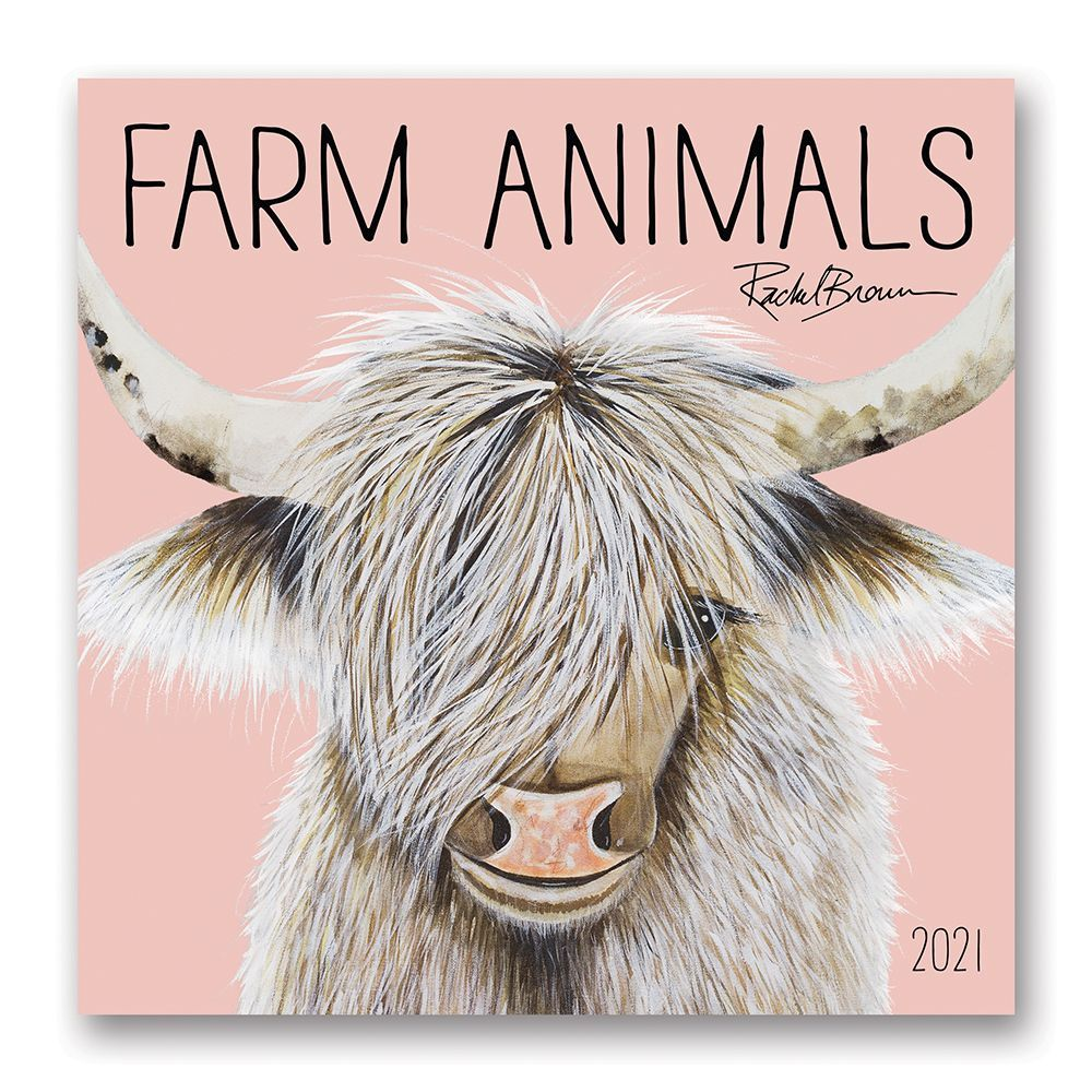 2021 Farm Animals Wall Calendar