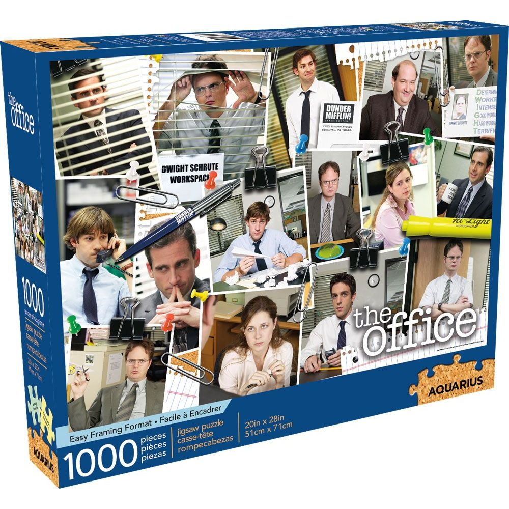 Best Office Cast 1000pc Puzzle You Can Buy