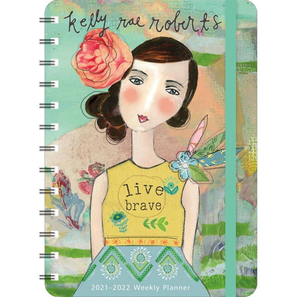 Kelly Rae Roberts 17 Month 2022 Planner