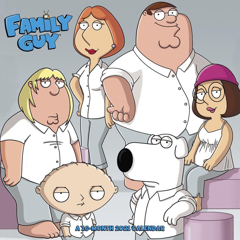 Family Guy 2021 Wall Calendar