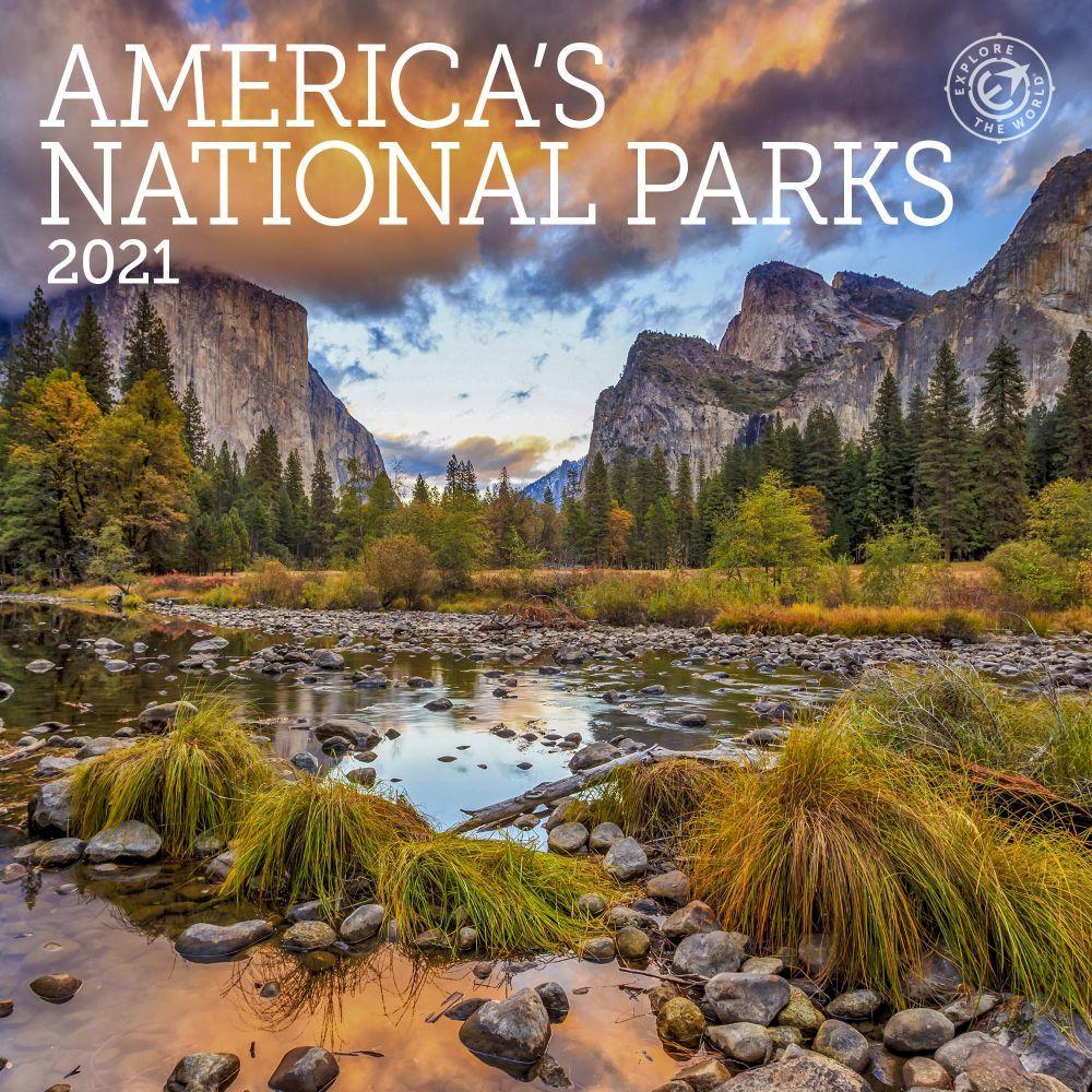 America's National Parks 2021 Mini Wall Calendar
