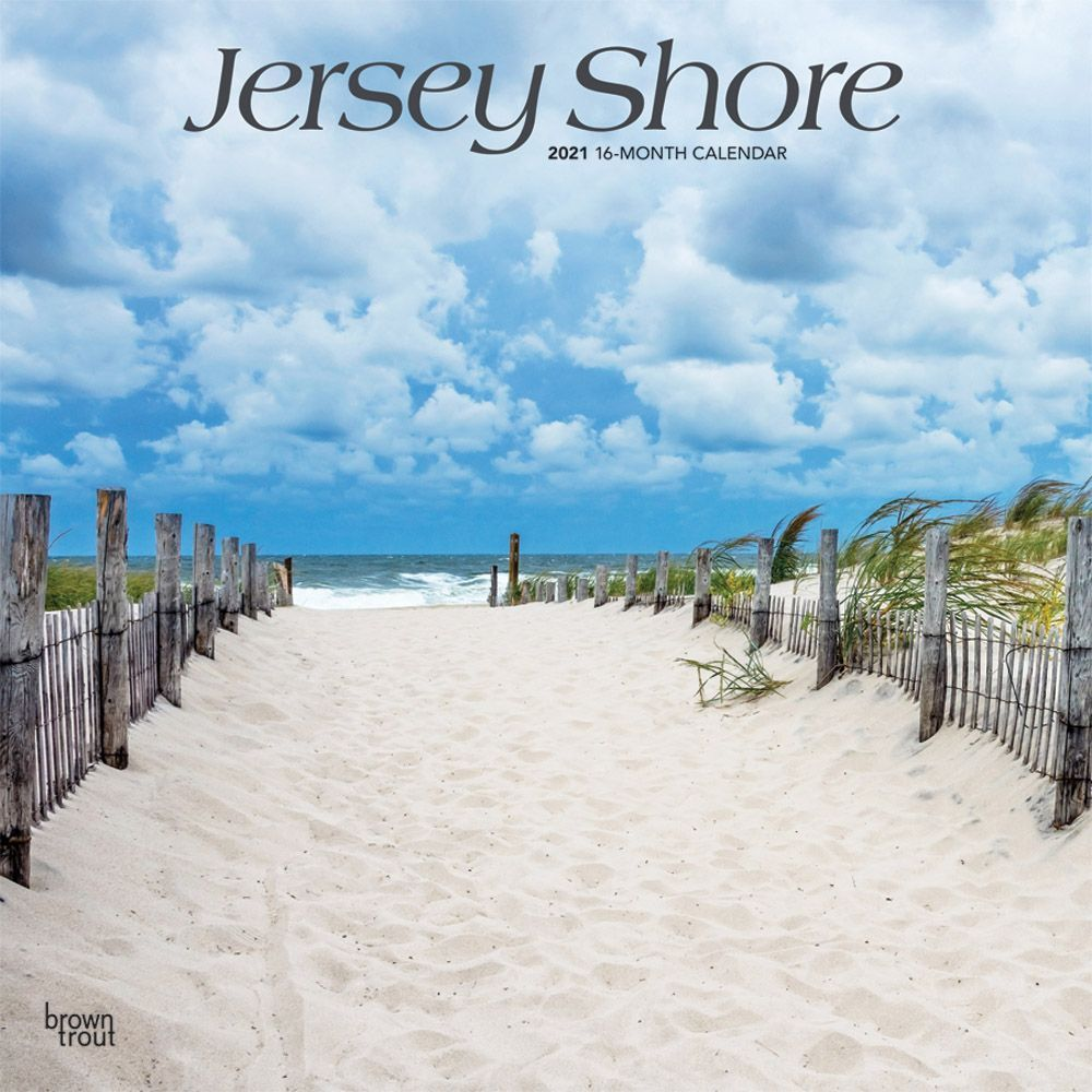 Jersey Shore 2021 Wall Calendar