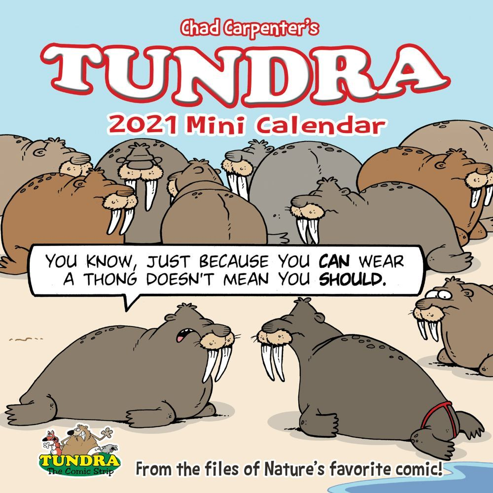 2021 Tundra Mini Wall Calendar