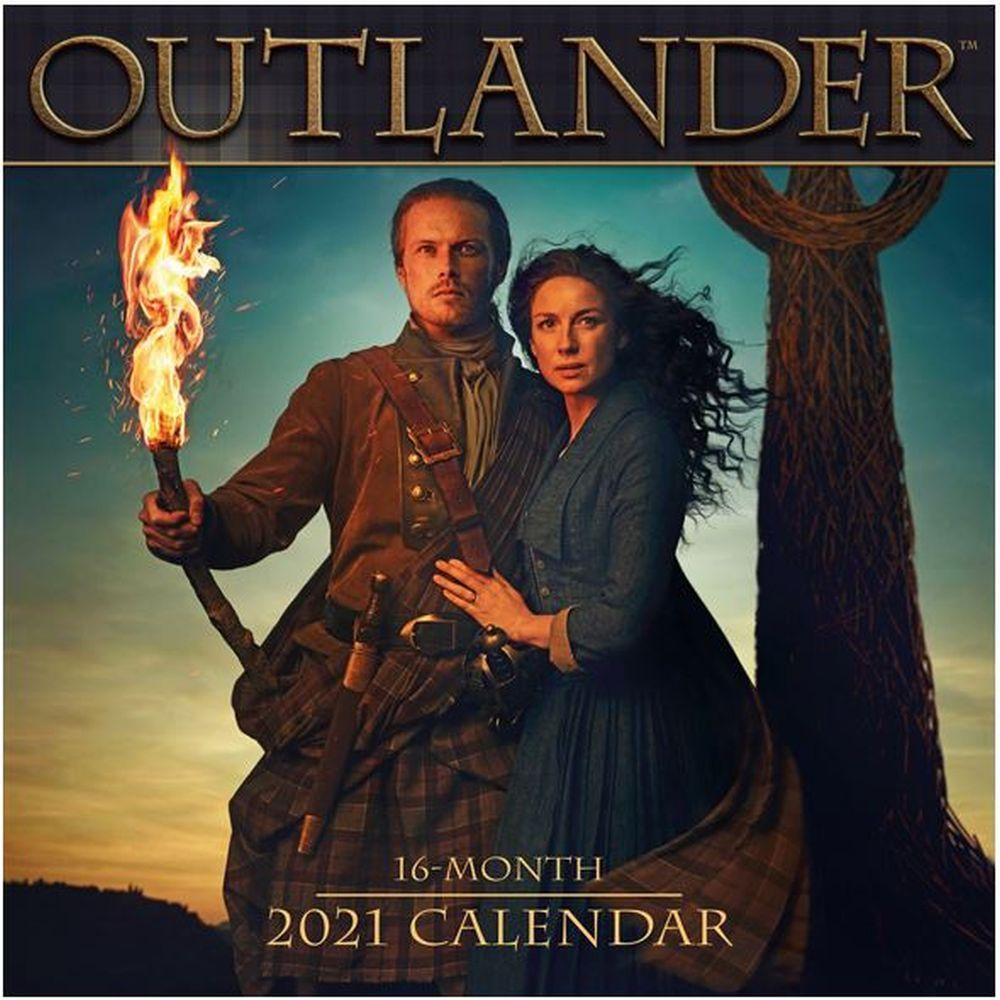 Outlander 2022 Wall Calendar