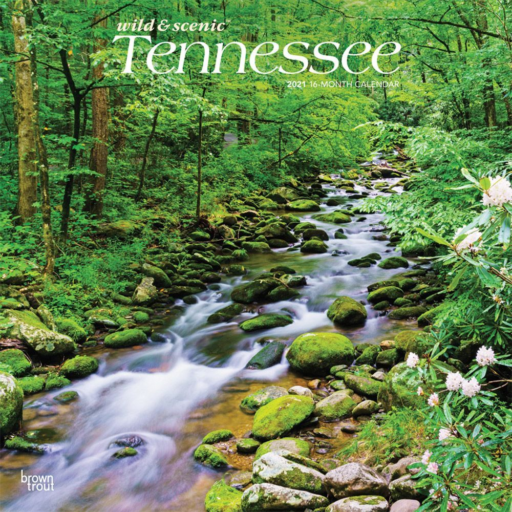 Tennessee Wild and Scenic 2021 Wall Calendar