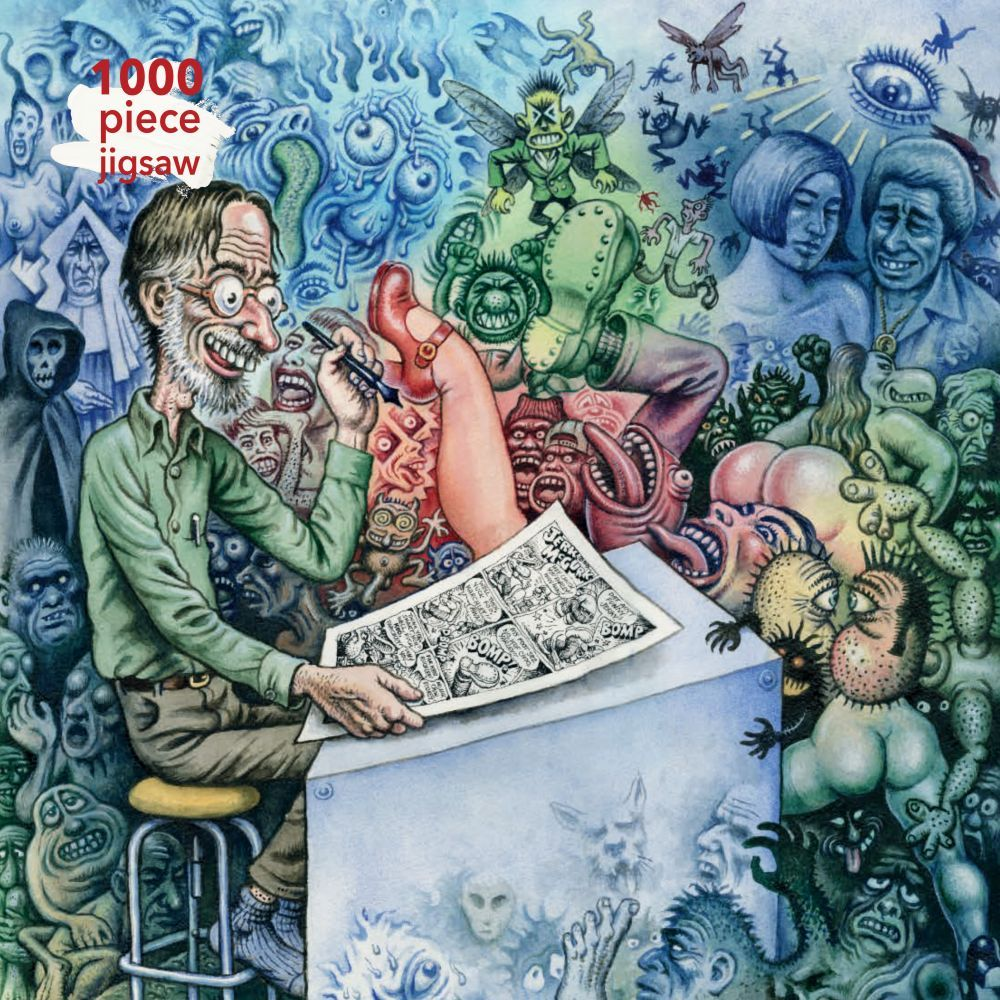 Best RCrumb: Whos Afraid of Robert Crumb 1000pc Puzzle You Can Buy
