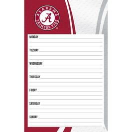 Alabama Crimson Tide Weekly Planner