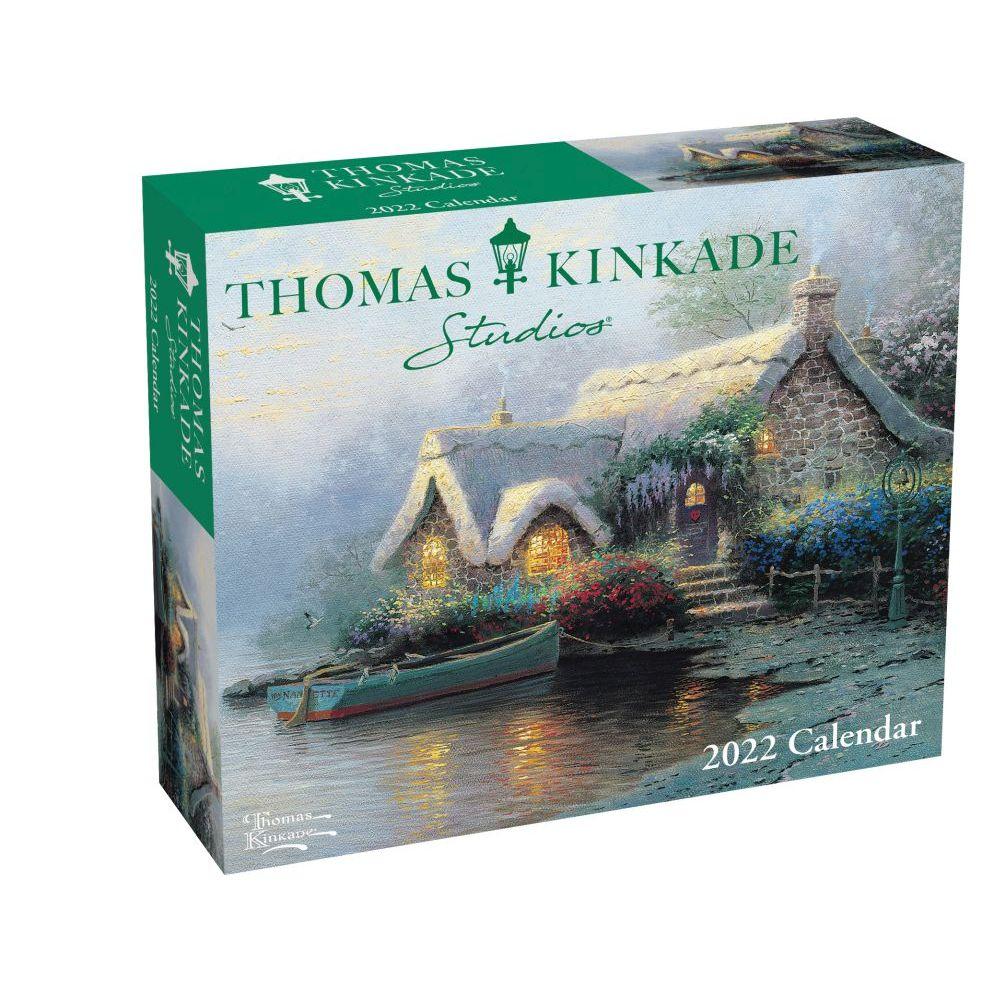 Thomas Kinkade Painter of Light 2022 Desk Calendar