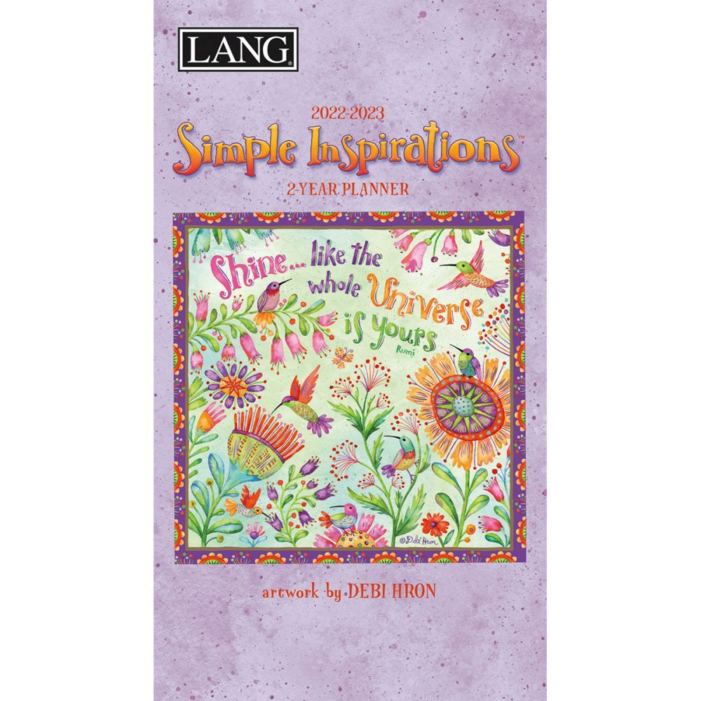 Simple Inspirations 2022 Two Year Planner