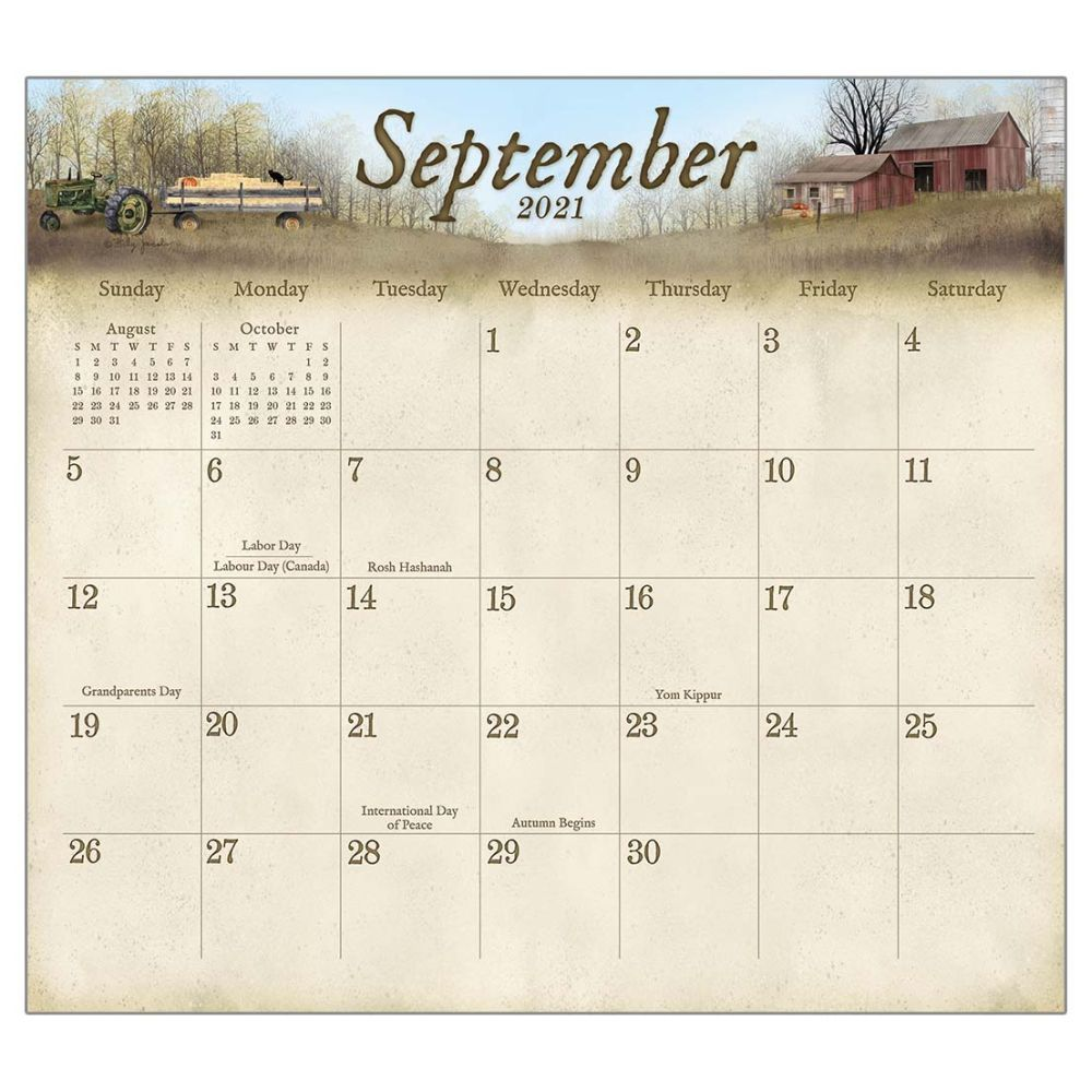 2021 Road Home Magnetic Calendar