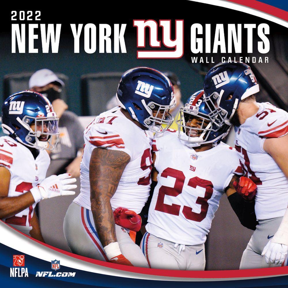 New York Giants 2022 Wall Calendar