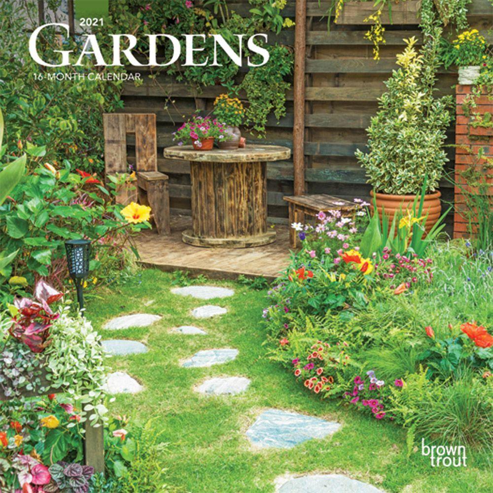 2021 Gardens Mini Calendar