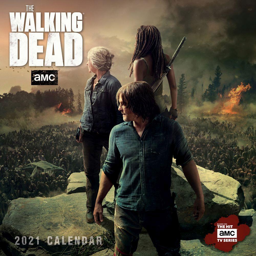 Walking Dead 2021 Mini Wall Calendar