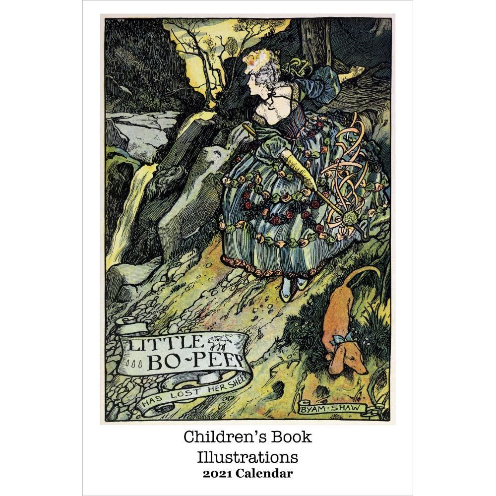 2021 Childrens Book Illustrations Poster Wall Calendar