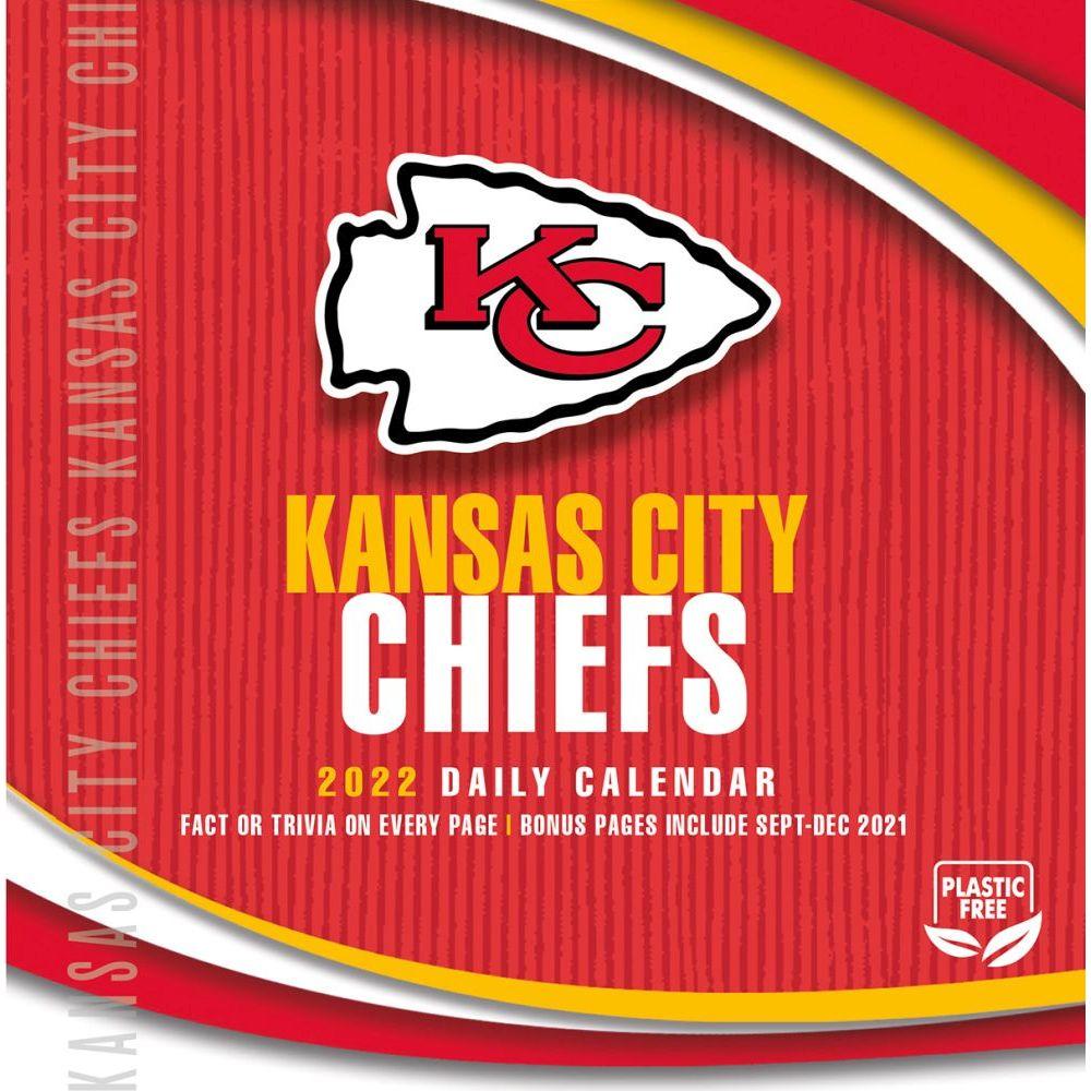 Kansas City Chiefs 2022 Desk Calendar