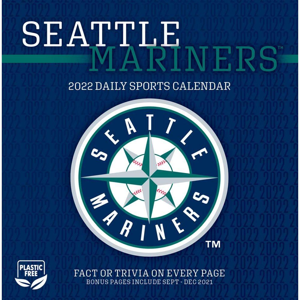 Seattle Mariners 2022 Desk Calendar