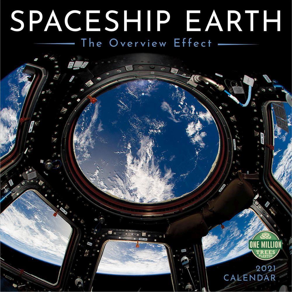 Spaceship Earth 2021 Wall Calendar