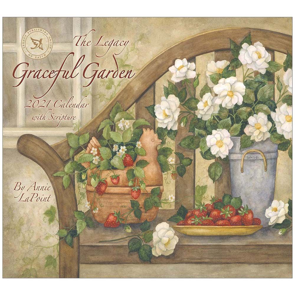 2021 Graceful Garden Wall Calendar