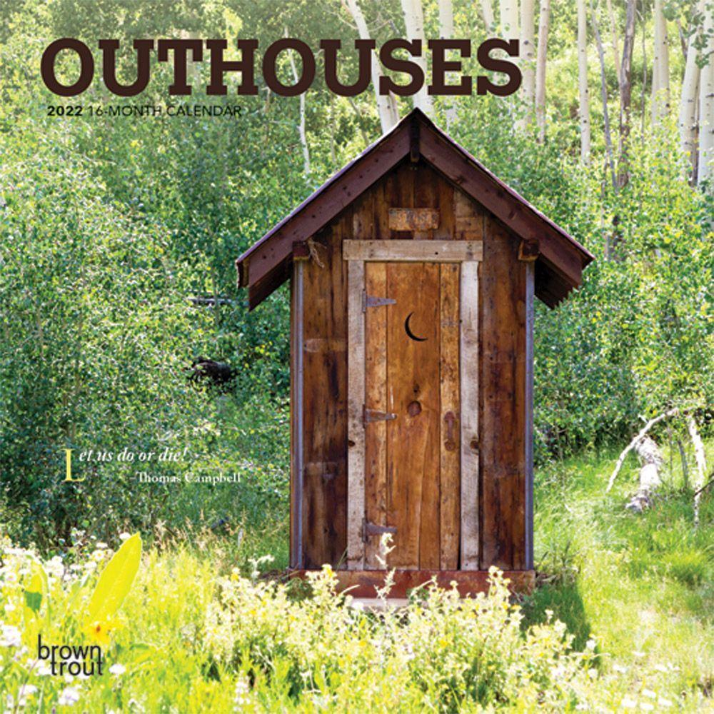 Outhouses 2022 Mini Wall Calendar
