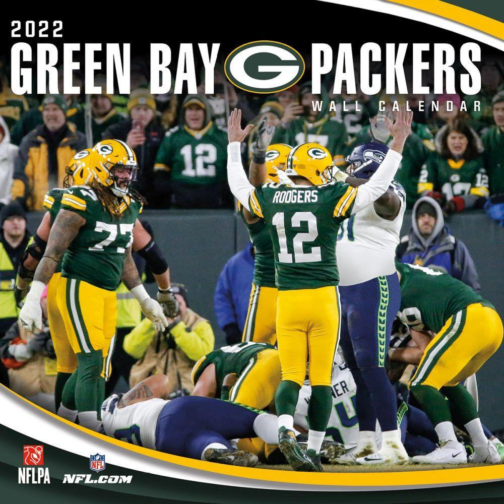 Green Bay Packers 2022 Wall Calendar