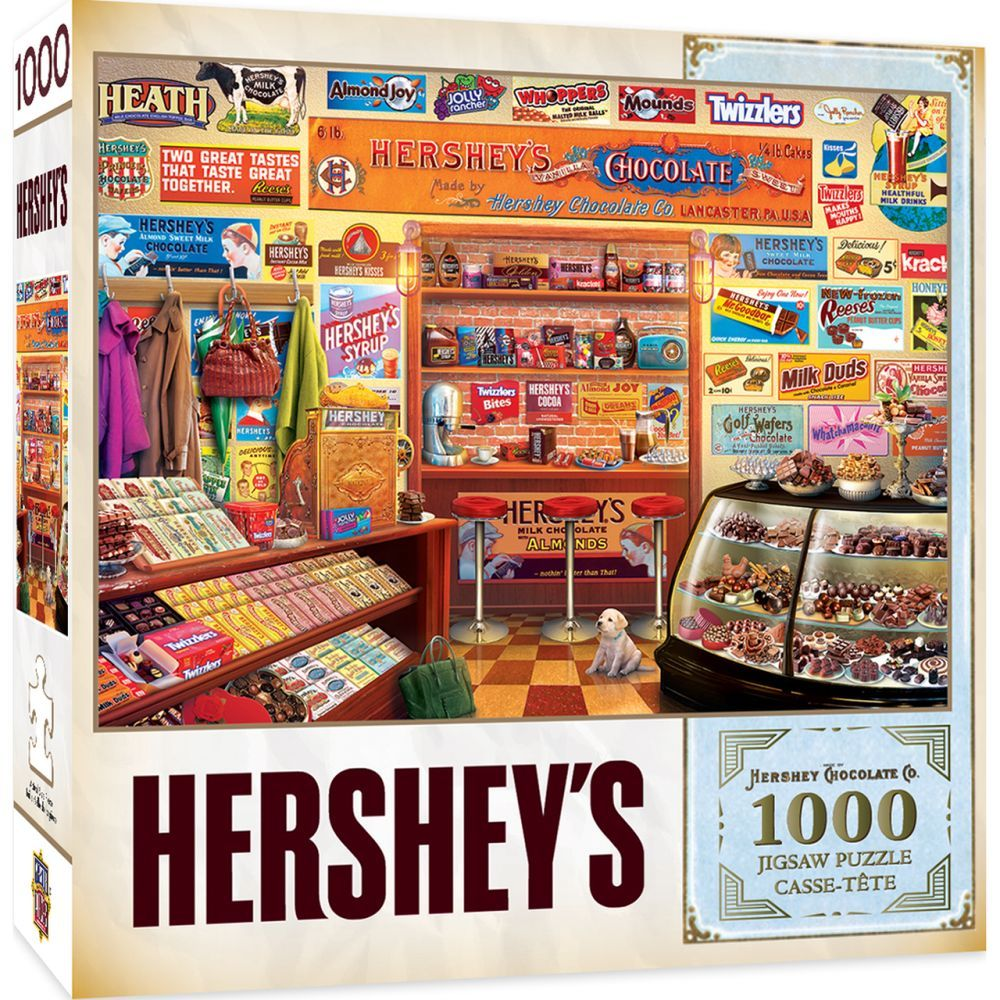Best Hersheys Candy Shop 1000pc Puzzle You Can Buy