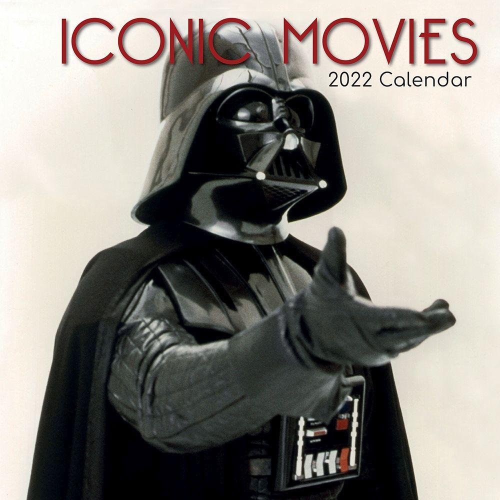 Iconic Movies 2022 Wall Calendar