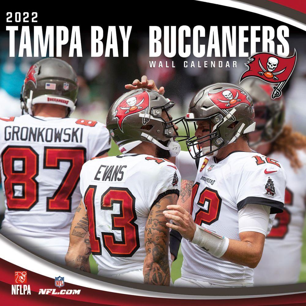 Tampa Bay Buccaneers 2022 Wall Calendar