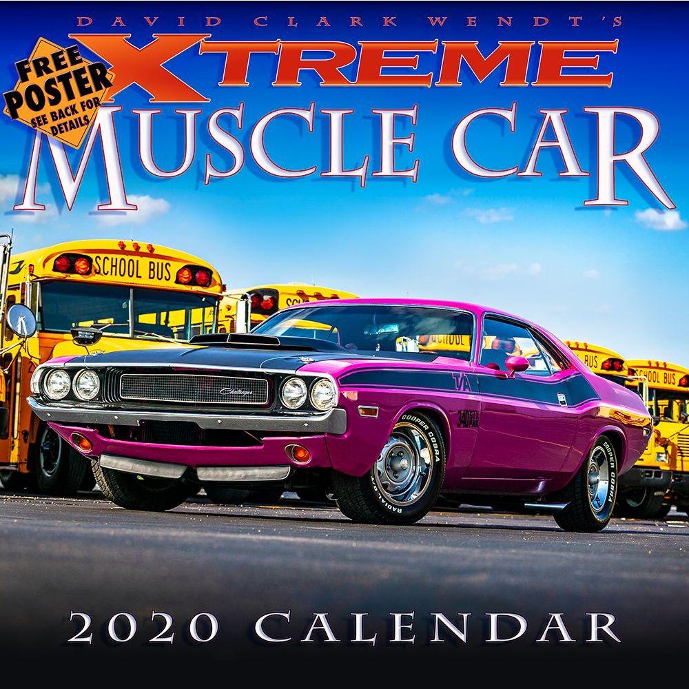 Xtreme Muscle Car 2021 Wall Calendar
