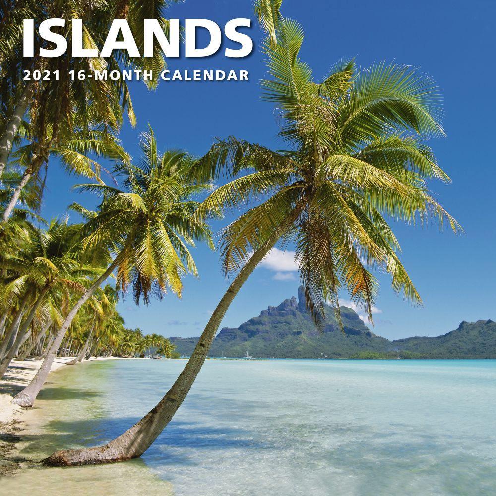 2021 Islands Wall Calendar